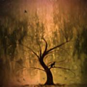 The Wishing Tree Art Print by Hazel Billingsley