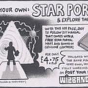 Wizbang Star Portal Art Print
