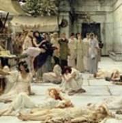 The Women Of Amphissa Print by Sir Lawrence Alma-Tadema