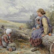 The Woodcutter's Children Art Print