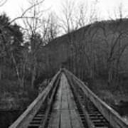The Wooden Bridge Art Print