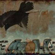 The Word Crow Art Print