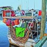 The Work Boat Art Print
