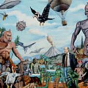 The World Of Ray Harryhausen Art Print