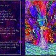 The Worshipping Heart And The Anointing Of Colors Art Print