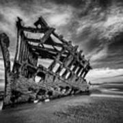The Wreck Of The Peter Iredale Art Print