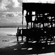 The Wreckage Of The Peter Iredale II Art Print