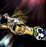 The Wrestler Art Print