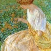 The Yellow Flower 1908 Art Print