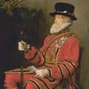 The Yeoman Of The Guard Art Print