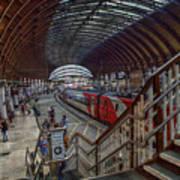 The York Train Station Art Print