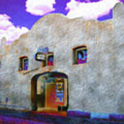 Theater Night Mesilla Art Print