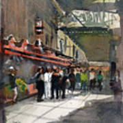 Theater Restaurants London  Art Print