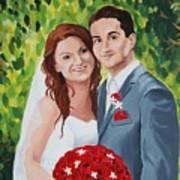 Their Wedding Day Art Print