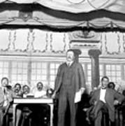 Theodore Roosevelt Speaking At National Art Print by Everett