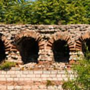 Theodosian Walls - View 13 Art Print