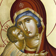 Theotokos Art Print by Julia Bridget Hayes