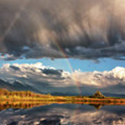 Theres A Rainbow In Every Storm Art Print