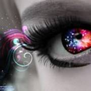 There's Magick In The Eyes Art Print