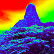 Thermal Face Of Hawaii Art Print