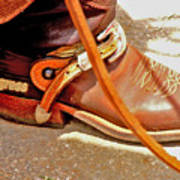 These Boots Were Made For Riding Art Print
