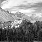 These Mountains Art Print