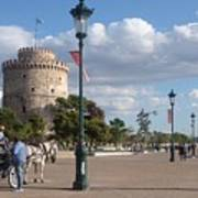 Thessaloniki City  Art Print