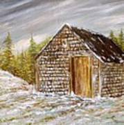Thewoodshed Art Print by Norman F Jackson