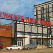 Third Ward - Milwaukee Public Market Art Print