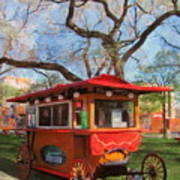 Third Ward - Popcorn Wagon Art Print