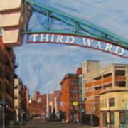 Third Ward Entry Art Print