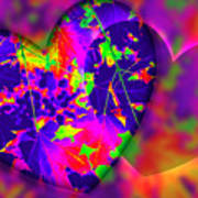 This Hearts For You Art Print