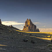 This Is New Mexico No. 2 - Shiprock World Wonder Print by Paul W Sharpe Aka Wizard of Wonders