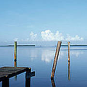 This Is The Morning View Of Pine Island Art Print