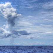 This Is The Philippines No.11 - Towering Clouds Art Print