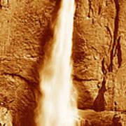 This Is Upper Yosemite Falls Art Print