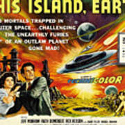This Island Earth, Faith Domergue, Rex Art Print