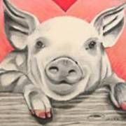 This Little Piggy... Art Print