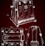 Thomas A. Edison Jr. Toaster Patent 1933 2 Art Print