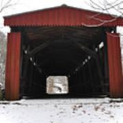 Thomas Mill Road Covered Bridge Art Print