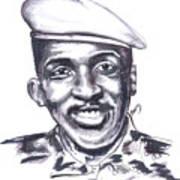 Thomas Sankara 02 Art Print