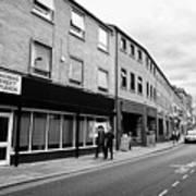 thomas street in the Northern quarter Manchester uk Art Print