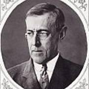 Thomas Woodrow Wilson, 1856 To 1924 Art Print