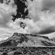 Thompson Springs Gathering Thunderstorm - Utah Art Print