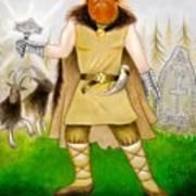 Thor Odinsson Print by Ilias Patrinos
