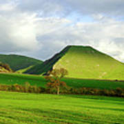 Thorpe Cloud From Bunster Hill Art Print