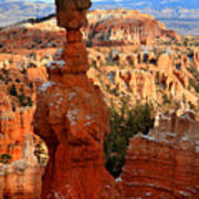 Thor's Hammer In Bryce Canyon Art Print