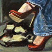 Those Shoes Art Print