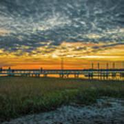 Those Southern Sunsets Art Print