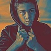 Thoughtful Youth 11 Art Print